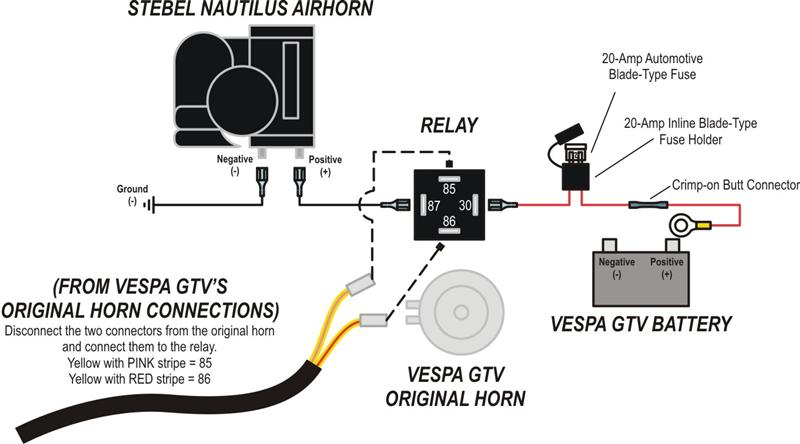 Luxury Omega Air Horn Wiring Diagram Festooning - Schematic Diagram ...